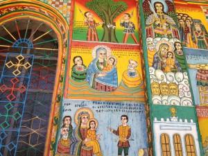 Painting of Axum church