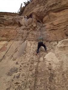 Climbing Debre Damo