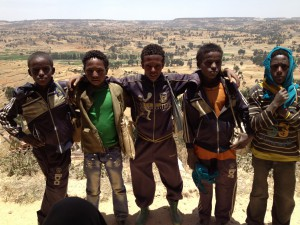students from the rural area of Tigray
