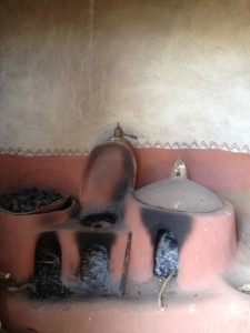 the traditional kitchen of Tigray people