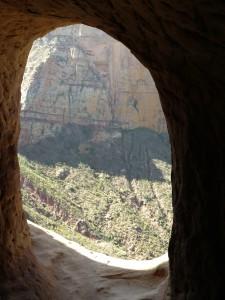 window of Abune yemata church