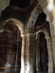 the inside part of the Mariyam kurkur church