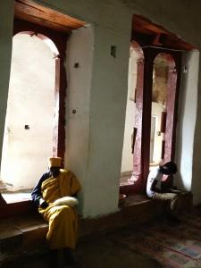 the interior part of Mariyam Kurkur church