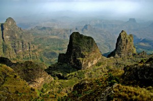 Seimin Mountain the Highest Range of Africa
