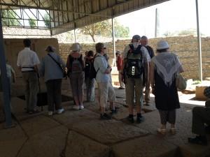 Visitin Tomb of false Door in Axum