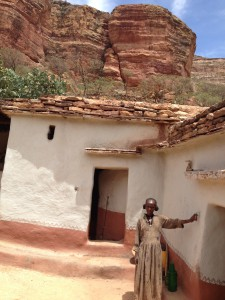 the traditional house of Tigray people