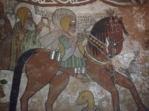 The founder of the church Abune yemata