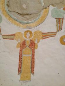 one of the painting of Danil kurkur church