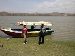 Visiting of Tulu Gudo Mountain on the Islands of Lake Zway