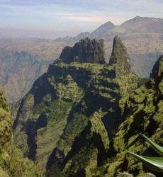 View of Semin Mountain